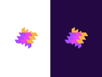 MyFlooring concept floors geometric logodesign modern logo