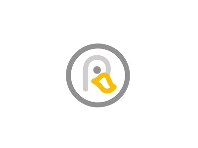 duck concept duck animal simple design geometric logodesign modern logo