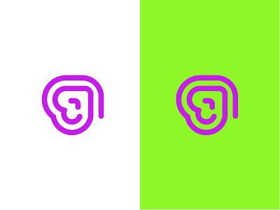 arrow Concept technology design geometric logodesign modern logo