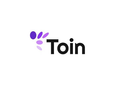 Toin coin technology simple logodesign modern logo
