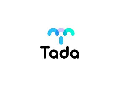 Tada design data simple bold logodesign modern logo