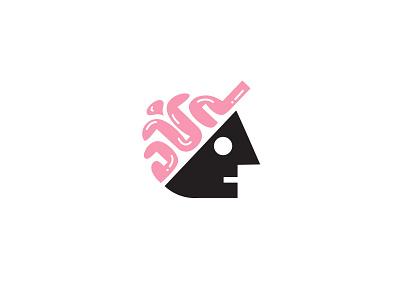 Thinking Hat thinking hat cap branding simple design bold geometric logodesign modern logo