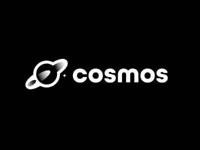 Cosmos branding design bold geometric logodesign modern logo