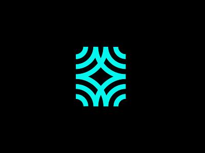 Sensing waves sensing waves technology branding design bold geometric logodesign modern logo