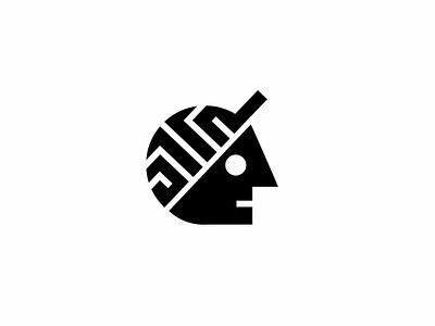 Thinking cap / brain training brainchild cap brainstorm thinkng brain illustrator design geometric logodesign modern logo