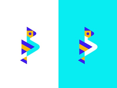 B+Bird+Play button