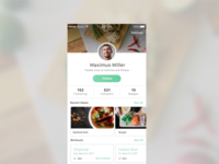 DailyUI 006: Profile