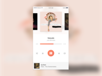 DailyUI 009: Music Player