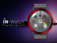 IN-Watch   Concept   Red Platinum Case