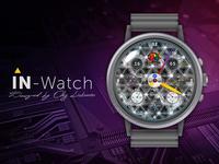 IN-Watch   Concept Titan   Crystal Swarovski
