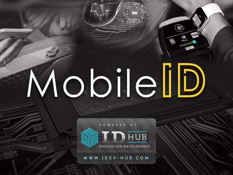 Mobile ID | Concept flat id shop hub website web animation typography app ux ui icon branding vector site illustration design logo concept mobile id
