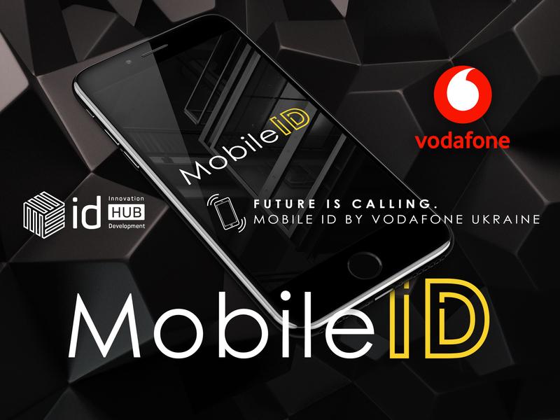 Mobile ID | Concept | Vodafone website type flat web id hub typography app ux ui icon branding vector shop illustration design logo site concept mobile id