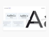 Moodboard   Typography landing layout interaction design web web design interface ux uiux ui typography design system concept moodboard