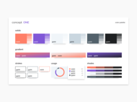 Moodboard | Color palette design systems layout interaction designer solid moodboard brand gradient color landing template figma elements interface web design system web design design ux ui