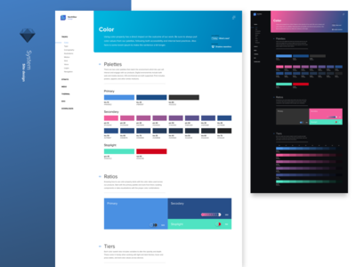 Design system - layout template sketch web design styleguide elements components layout interaction ux ui color design system