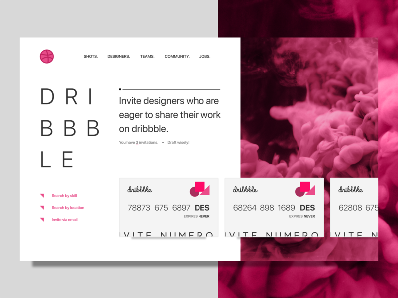 dribbble invites landing dribbble debut web design ux ui web debut invitation draft invites dribbble dribbble invites