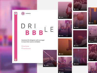 dribbble invite draftee draft figma sketch studio layout interface web desgin design ux ui invite giveaway invite dribbble invitation dribbble invite