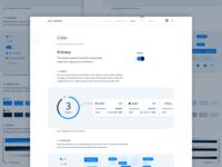 Figma Design System | Color