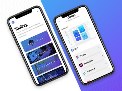 Design tooling | Mobile