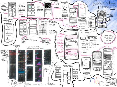 Wireframes | Garmin Connect