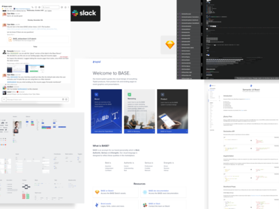 BASE Resources atomic library theme design web design system interface ux uiux ui slack sketch templates downloads resources