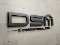 Logo design DSM Contractors LLC