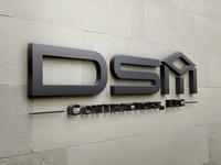 Logo design DSM Contractors LLC