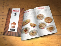 "Menu design ""PortaEU"""