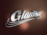 "Logo design ""Glamour look"" hairdresser salon"