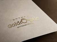 "Logo design ""GOLD OPTIC'"