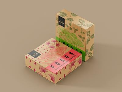 Mush Chips Box chips mush logo vector illustration graphic design food packaging fiifix on dribble fiifix design branding