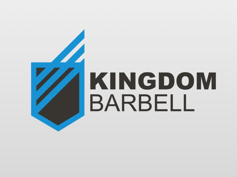 Kingdom Barbell Logo logo design logo