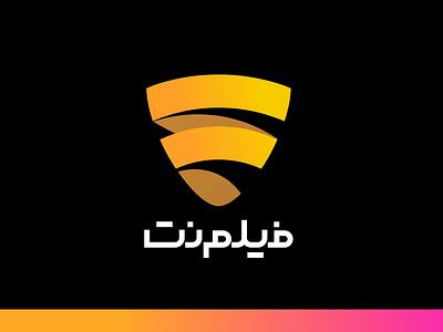 Filmnet Logo artwork application illustration vector design logo design concept. redesign service vod logo film