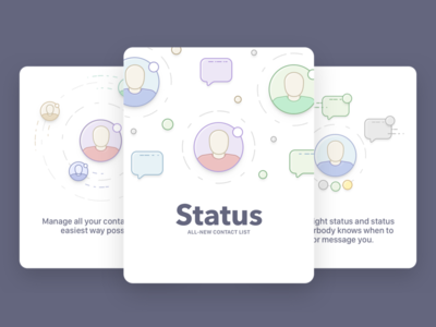 Status - All New Contact List