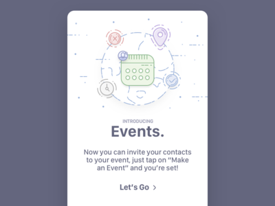 Status - Events Introduction