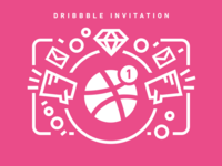 1 Dribbble Invitation Giveaway