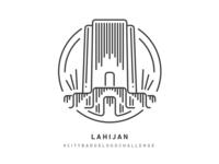 Lahijan City Badge