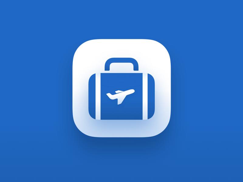 Travel app icon design ux ui icon app travel