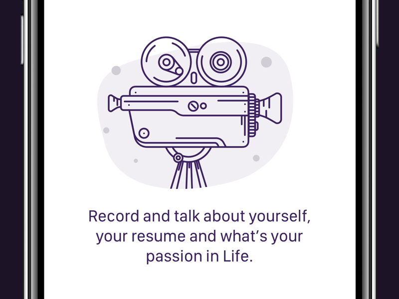 Record Video View illustration recorder camera video record