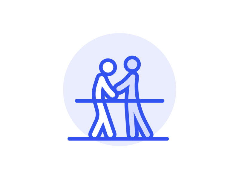 Physiotherapy Service Icon app branding icon concept illustration ui service project intro vector design icons application artwork logo physiotherapy