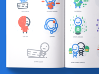 Laundry Application Illustrations