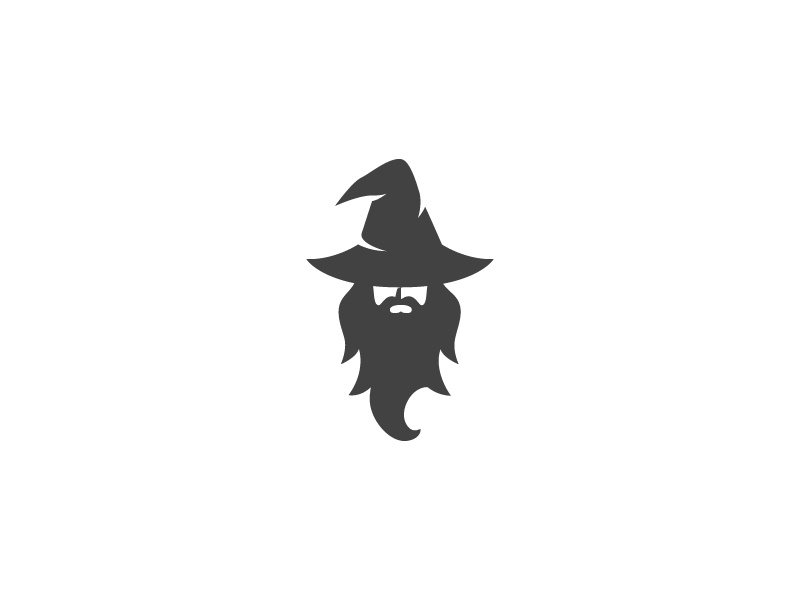 Warlock wizard logo by danu risnandar dribbble for Logo creation wizard