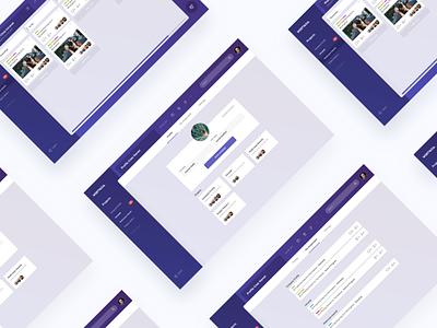 Webtvasia Intranet Dashboard 4.0 adit septian webtvasia dashboard web gradient layout cms trello slack