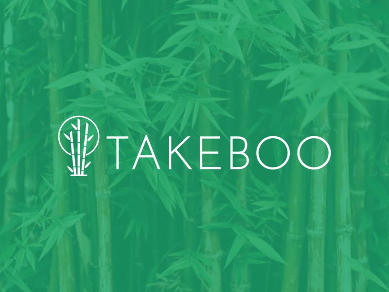 Takeboo | Logo Design italy green logo green bio nature logo startup startup branding japanese japan bamboo lithuanian vilnius lithuania startup logo icon design icon branding logo design vector logo