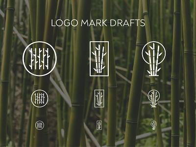 Takeboo   Logo Drafts symbol logo mark nature logo nature biology eco logo eco-friendly eco turin vilnius icon design branding lithuanian lithuania italian japanese japan bamboo logo design logo