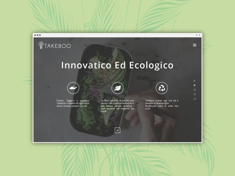 Takeboo | Website UI/UX startup startup logo minimalist logo bamboo logo bamboo logo design branding logo design green logo lithuania vilnius italy italian landing page design landing page web design uxdesign uidesign uiux ux ui