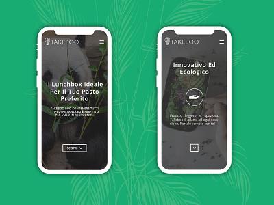 Takeboo   Mobile UI/UX branding startup startup logo minimalistic logo green logo bamboo bamboo logo logo design vilnius italian italy lithuania responsive webdesign responsive website responsive design uxdesign uidesign uiux ux ui