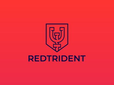 Redtrident | Logo design
