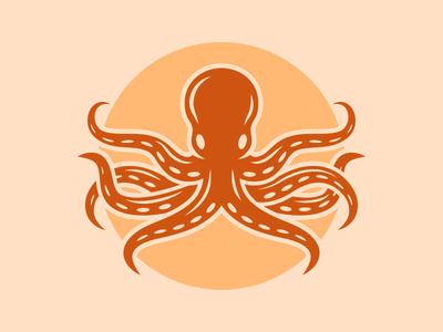 Octopus logo concept