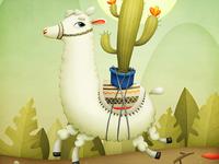 Cactus & Lama